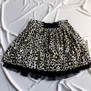 Disney D-Signed leopard skirt.  Size medium.
